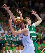 DESCRIZIONE : Kaunas Lithuania Lituania Eurobasket Men 2011 Quarter Final Round Spagna Slovenia Spain Slovenia<br /> GIOCATORE : Pau Gasol<br /> CATEGORIA : curiosita<br /> SQUADRA : Spagna Spain<br /> EVENTO : Eurobasket Men 2011<br /> GARA : Spagna Slovenia Spain Slovenia<br /> DATA : 14/09/2011<br /> SPORT : Pallacanestro <br /> AUTORE : Agenzia Ciamillo-Castoria/T.Wiendesohler<br /> Galleria : Eurobasket Men 2011<br /> Fotonotizia : Kaunas Lithuania Lituania Eurobasket Men 2011 Quarter Final Round Spagna Slovenia Spain Slovenia<br /> Predefinita :
