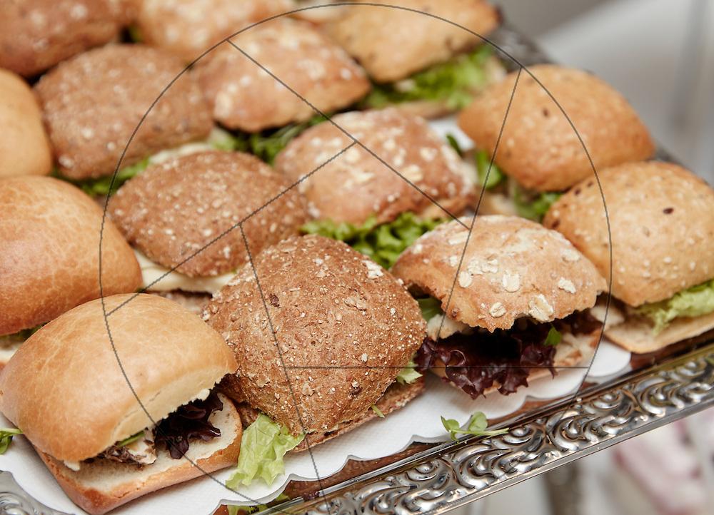 Vestsjællandscenteret Grand Opening, åbning efter istandsættelse, reception, buffet, sandwich, grovboller