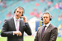 Will GREENWOOD / Jonny WILKINSON - 02.05.2015 - Clermont / Toulon - Finale European Champions Cup -Twickenham<br />