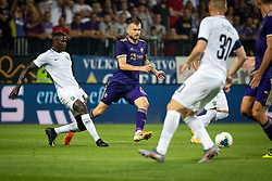 during Football match between NK Maribor and PFC Ludogorets of UEFA Europa League Qualifications 2019/2020, Final round, on August 29, 2019 in Ljudski Vrt, Maribor, Slovenia. Photo by Blaž Weindorfer / Sportida