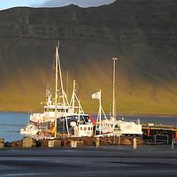 Fishing boats, Grundarfjordur harbor