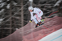 21.02.2013, Kandahar, Garmisch Partenkirchen, AUT, FIS Weltcup Ski Alpin, Abfahrt, Herren, 1. Training, im Bild Romed Baumann (AUT) // Romed Baumann of Austria in action during 1st practice of the  mens Downhill of the FIS Ski Alpine World Cup at the Kandahar course, Garmisch Partenkirchen, Germany on 2013/02/21. EXPA Pictures © 2013, PhotoCredit: EXPA/ Johann Groder