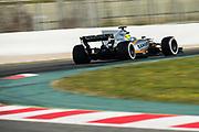 March 7-10, 2017: Circuit de Catalunya. Sergio Perez (MEX), Sahara Force India, VJM10