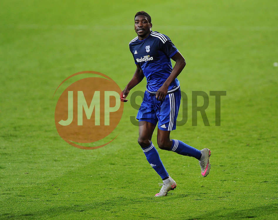 Sammy Ameobi of Cardiff City  - Mandatory by-line: Joe Meredith/JMP - 07966386802 - 28/07/2015 - SPORT - FOOTBALL - Cardiff,Wales - Cardiff City Stadium - Cardiff City v Watford - Pre-Season Friendly