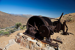 Abandoned mining equipment, Lost Horse Mine, Joshua Tree National Park, California, United States of America