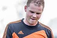 23-04-2016: Voetbal: Woudenberg v Montfoort: Woudenberg<br /> <br /> Teleurstelling bij Bart Roelofs van vv Montfoort <br /> <br /> Foto: Gertjan Kooij