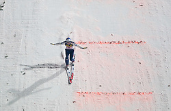Wolfgang Loitzl (AUT) competes during Second round of the FIS Ski Jumping World Cup event of the 58th Four Hills ski jumping tournament, on January 6, 2010 in Bischofshofen, Austria. (Photo by Vid Ponikvar / Sportida)
