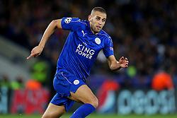 Islam Slimani of Leicester City  - Mandatory by-line: Matt McNulty/JMP - 27/09/2016 - FOOTBALL - King Power Stadium - Leicester, England - Leicester City v FC Porto - UEFA Champions League