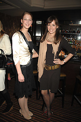 Left to right, LADY GABRIELLA WINDSOR and LADY ROSE INNES-KER at a lunch hosted by Ralph Lauren to present their Spring 2007 collection in support of the Serpentine Gallery's Education Programme, held at Fifty, 50 St.James's Street, London SW1 on 20th March 2007.<br /><br />NON EXCLUSIVE - WORLD RIGHTS