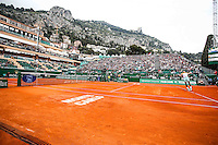 Illustration court - 15.04.2015 - Tournoi de Monte Carlo - Masters 1000<br />