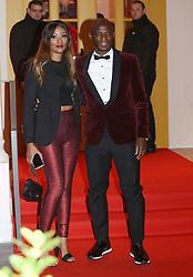 Zoumana Camara and Awa Camara Celebs attending the 27th birthday Neymar Jr. at Pavillon Gabriel in Paris, France, on February 4, 2019.