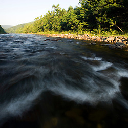 The West River in Townshend, Vermont.  Connecticut River tributary,