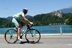 BOZIC Borut of Astana during 3rd Stage (219 km) at 19th Tour de Slovenie 2012, on June 16, 2012, in Bled, Slovenia. (Photo by Urban Urbanc / Sportida.com)