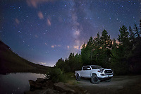 KELOWNA, CANADA - JULY 22: Toyota Tacoma photo shoot on July 22, 2017 at Chute Lake in Kelowna, British Columbia, Canada.  (Photo by Marissa Baecker/Shoot the Breeze)  *** Local Caption ***