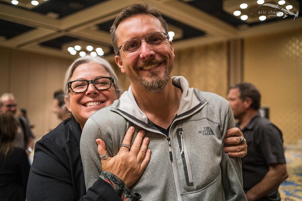Erin Quigley and Hergen Spalink (DEMA 2016, Las Vegas)