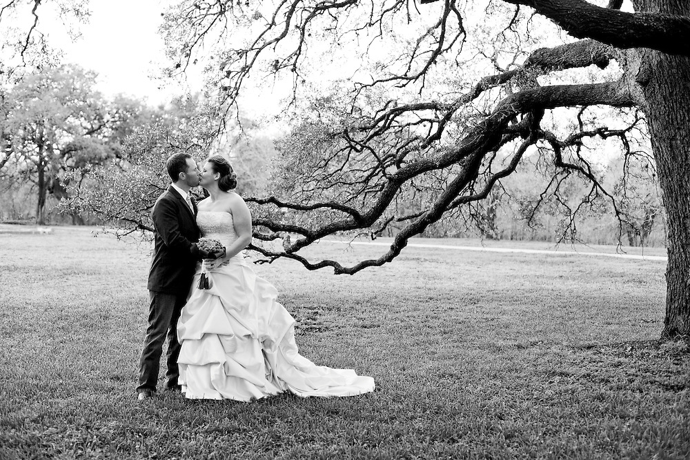 February 18, 2012. Wedding in Austin, Texas.
