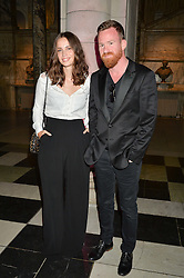 HEIDA REED and BÖRKUR SIGTHORSSON at a private view of Revolution: Records and Rebels 1966-1970 at the V&A, London on 7th September 2016.