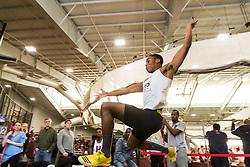 Boston University John Terrier Classic Indoor Track & Field: mens long jump, Idah, Brown