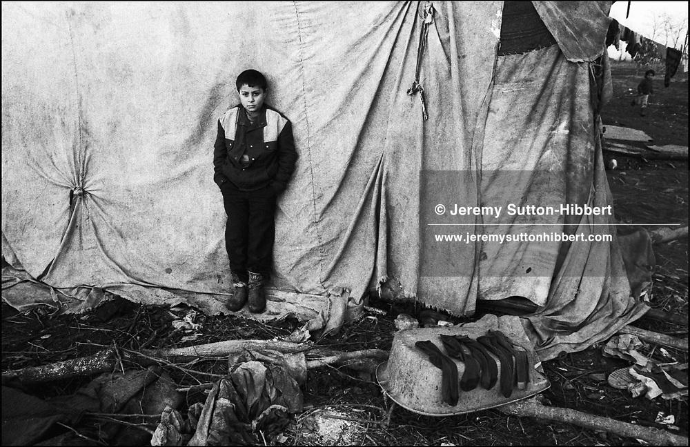 SINTESTI, ROMANIA. JANUARY 1994..©JEREMY SUTTON-HIBBERT 2000..TEL. +44-141-649-2912..TEL. +44-7831-138817.