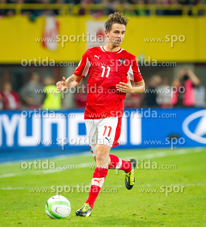 07.06.2013, Ernst Happel Stadion, Wien, AUT, FIFA WM Qualifikation, Oesterreich vs Schweden, im Bild Martin Harnik, (AUT, #11)// during the FIFA World Cup Qualifier Match between Austria and Sweden at the Ernst Happel Stadium, Vienna, Austria on 2013/06/07. EXPA Pictures © 2013, PhotoCredit: EXPA/ Sebastian Pucher