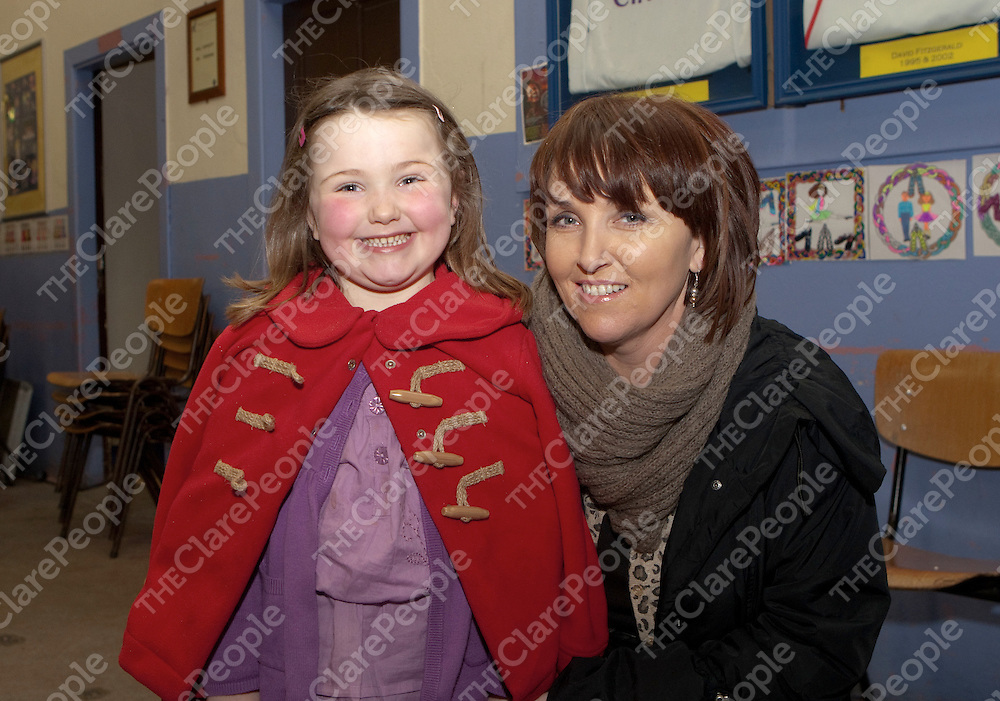 Pictured at the Sixmilebridge Youth Club &amp; Youth Theatre Panto Little Red Riding Hood  were:<br /> Sarah O'Connor &amp; Eleanor Cullinan.<br /> Picture Credit  Brian Gavin Press 22