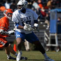 2013-02-17 Mercer at Duke lacrosse