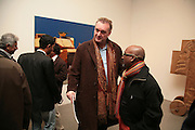 Willem Baars, Other,Riyas Komu and Peter Drake. - VIP  launch of Aicon. London's largest contemporary Indian art gallery. Heddon st. and afterwards at Momo.15 Marc h 2007.  -DO NOT ARCHIVE-© Copyright Photograph by Dafydd Jones. 248 Clapham Rd. London SW9 0PZ. Tel 0207 820 0771. www.dafjones.com.