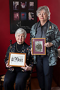 """From left, sisters Marilyn DiLillo, 74, and Carol DePalma, 78, are photographed in Marilyn's home in Yarmouthport, MA. The sisters grew up in East Walpole, MA. Marilyn was diagnosed with stage three breast cancer 24 years ago and again last year and Carol was diagnosed with a serious sarcoma 24 years ago. They are the only remaining members of their immediate family; their siblings and parents were diagnosed with various types of cancer. Genetic testing on Marilyn ruled out any hereditary predisposition to cancer. """"We believe our cancers are due to environmental factors. There was an asbestos shingle factory nearby and our home bordered a park where DDT was sprayed nightly during the polio epidemic. We all played in that park,"""" Marilyn explains. While Carol lives in Florida and Marilyn on Cape Cod, the sisters are close and visit each other frequently. """"It's comforting to spend time together,"""" adds Marilyn, who just finished treatment for her second bout of breast cancer."""