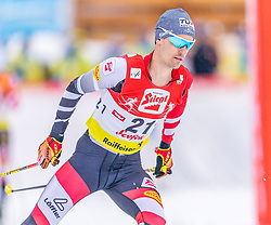 02.02.2020, Seefeld, AUT, FIS Weltcup Nordische Kombination, Langlauf, Gundersen 15 Km, im Bild Lukas Klapfer (AUT) // Lukas Klapfer of Austria during the Gundersen 15 Km Cross Country Competition of FIS Nordic Combined World Cup at the Seefeld, Austria on 2020/02/02. EXPA Pictures © 2020, PhotoCredit: EXPA/ Stefan Adelsberger