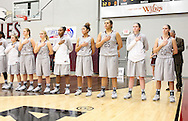 January 29, 2015: The St. Mary's University Rattlers play against the Oklahoma Christian University Lady Eagles in the Eagles Nest on the campus of Oklahoma Christian University.