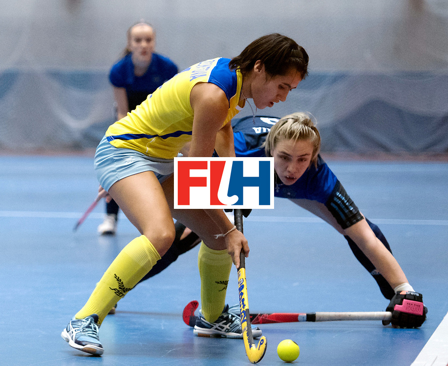BERLIN - Indoor Hockey World Cup<br /> Kazakhstan - Russia<br /> foto:<br /> WORLDSPORTPICS COPYRIGHT FRANK UIJLENBROEK