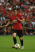Manchester United's Daniel James during an International Champions Cup game won by Manchester United 1-0, Saturday, July 20, 2019, in Singapore. (Kim Teo/Image of Sport)