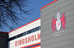 General view outside Kingsholm stadium. - Mandatory by-line: Alex James/JMP - 24/02/2018 - RUGBY - Kingsholm - Gloucester, England - Gloucester Rugby v Wasps - Aviva Premiership