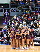 (QUEENSLAND FIREBIRDS) - Photo: SMP IMAGES /Action from the Round 10 ANZ Netball Championship clash between the Queensland Firebirds v Melbourne Vixens, played at the Gold Coast Convention Centre Broadbeach, Queensland.