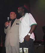 Clive Davis & Wyclef Jean<br />