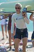 Aiguebelette, FRANCE, USA Women's Eight, Meghan MUSNICKI, after training 2015 FISA World Rowing Championships, <br /> Venue, Lake Aiguebelette - Savoie. <br /> Saturday  29/08/2015  [Mandatory Credit. Peter SPURRIER/Intersport Images].