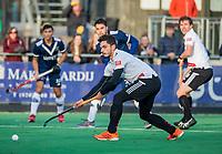 AMSTELVEEN - Tanguy Cosyns (Adam) tijdens de competitie hoofdklasse hockeywedstrijd heren, Pinoke-Amsterdam (1-1)   COPYRIGHT KOEN SUYK