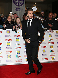 David Beckham, Pride of Britain Awards, Grosvenor House Hotel, London UK. 28 September, Photo by Richard Goldschmidt /LNP © London News Pictures