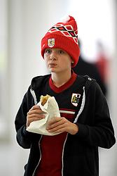 Fan enjoying a pastie at Ashton Gate - Mandatory by-line: Paul Knight/JMP - Mobile: 07966 386802 - 03/10/2015 -  FOOTBALL - Ashton Gate Stadium - Bristol, England -  Bristol City v MK Dons - Sky Bet Championship