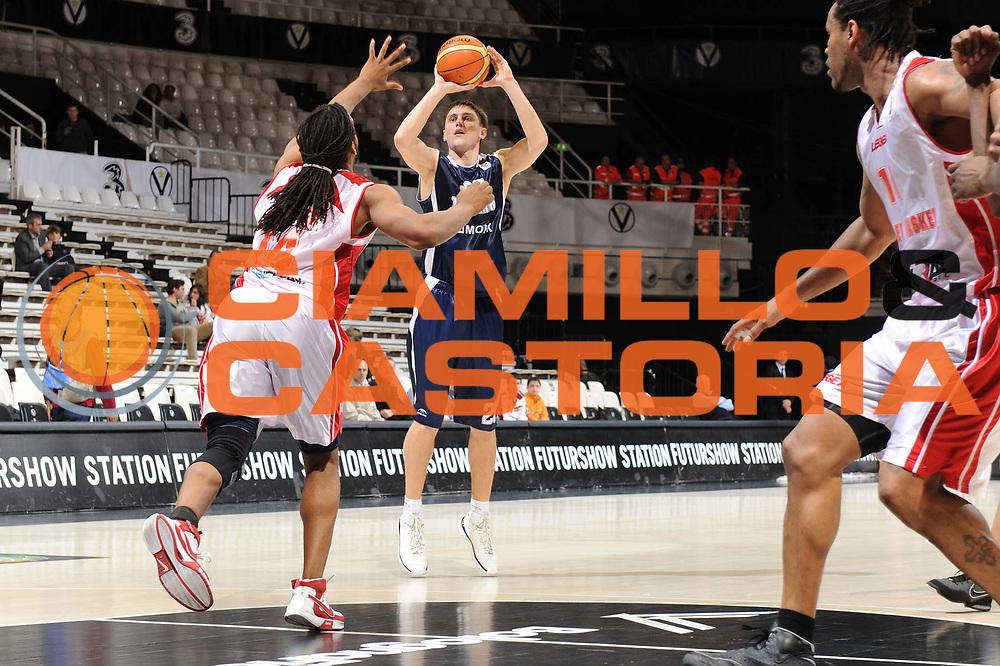 DESCRIZIONE : Bologna EuroChallenge Final Four 2009 Semifinal Cholet Basket BC Triumph Moscow Region<br /> GIOCATORE : Pavel Sergeev<br /> SQUADRA : BC Triumph Moscow Region<br /> EVENTO : EuroCup-EuroChallenge 2009<br /> GARA : Cholet Basket BC Triumph Moscow Region<br /> DATA : 24/04/2009 <br /> CATEGORIA : tiro<br /> SPORT : Pallacanestro <br /> AUTORE : Agenzia Ciamillo-Castoria/M.Marchi