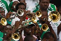 Photo: Steve Bond/Richard Lane Photography.<br />Nigeria v Mali. Africa Cup of Nations. 25/01/2008. Nigerian horn section