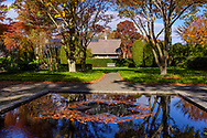 Fall Reflection in Black Mirror, 2008 by Roy Smith assoc. Longhouse Reserve and sculpture garden located in East Hampton, NY