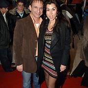 NLD/Amsterdam/20060409 -  Première Black Pinocchio, Johan Vlemmix en Graziella Ferraro