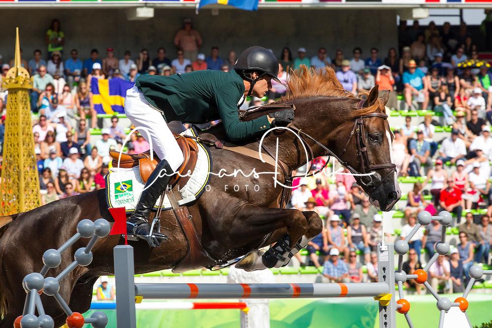 Pedro Veniss, (BRA), Quabri De L Isle - World Champions, - Second Round Team Competition - Alltech FEI World Equestrian Games&trade; 2014 - Normandy, France.<br /> &copy; Hippo Foto Team - Leanjo De Koster<br /> 25/06/14