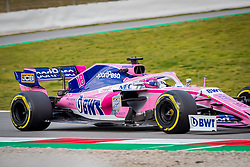 February 19, 2019 - Montmelo, Barcelona, Spain - Barcelona-Catalunya Circuit, Montmelo, Catalonia, Spain - 19/02/2018: Lance Stroll of SportPesa Racing Point F1 Team during second journey of F1 Test Days in Montmelo circuit. (Credit Image: © Javier Martinez De La Puente/SOPA Images via ZUMA Wire)