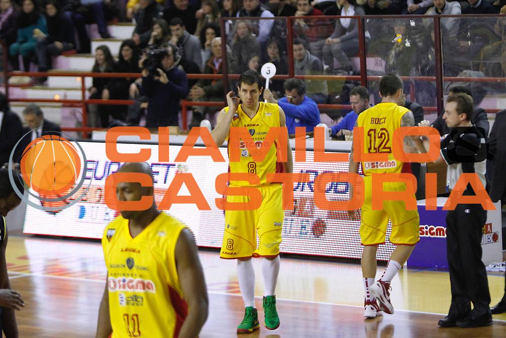 DESCRIZIONE : Barcellona Pozzo di Gotto Campionato Lega Basket A2 2011-12 Sigma Barcellona Tezenis Verona<br /> GIOCATORE : Mindaugas Lukauskis<br /> SQUADRA : Sigma Barcellona<br /> EVENTO : Campionato Lega Basket A2 2011-2012<br /> GARA : Sigma Barcellona Tezenis Verona<br /> DATA : 26/02/2012<br /> CATEGORIA : Ritratto Eurobet Legadue<br /> SPORT : Pallacanestro <br /> AUTORE : Agenzia Ciamillo-Castoria/G.Pappalardo<br /> Galleria : Lega Basket A2 2011-2012 <br /> Fotonotizia : Barcellona Pozzo di Gotto Campionato Lega Basket A2 2011-12 Sigma Barcellona Tezenis Verona<br /> Predefinita :