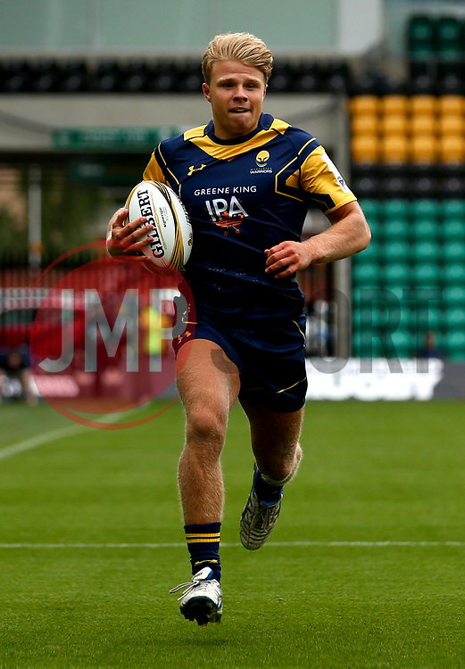 Ollie Allsopp of Worcester Warriors - Mandatory by-line: Robbie Stephenson/JMP - 29/07/2017 - RUGBY - Franklin's Gardens - Northampton, England - Worcester Warriors v Newcastle Falcons - Singha Premiership Rugby 7s