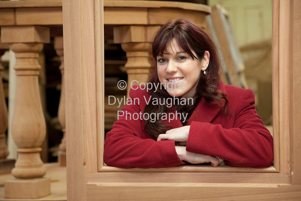 22/1/2009.Aisling Hurley of Teamwoodcraft in Ballybrittas County Laois..Picture Dylan Vaughan.