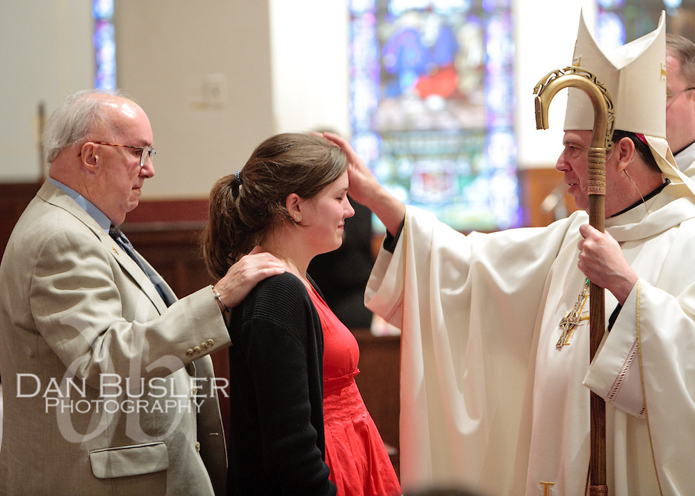 Image from the Confirmation held at St Ann's parish in Dorchester MA