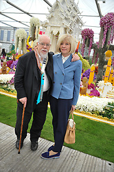 SIR PETER & LADY BLAKE at the 2013 RHS Chelsea Flower Show held in the grounds of the Royal Hospital, Chelsea on 20th May 2013.